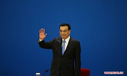 Chinese Premier Li Keqiang gives press conference