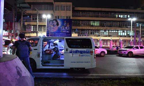 Explosion rocks Bangkok, killing at least 15