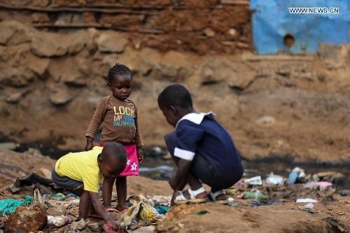 Kibera slum: biggest slum in Africa