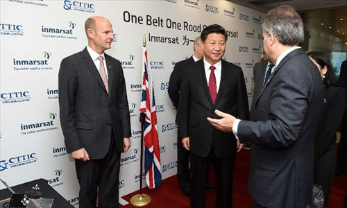 Chinese president visits Mobile Satellite Company in London