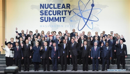 Xi attends 4th Nuclear Security Summit in Washington DC