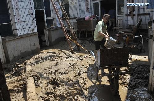 Torrential rain, floods leave 26 dead, 34 missing in N.China's Jingxing