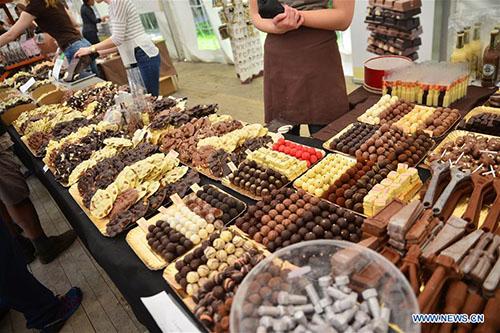 Annual Chocolate Festival held in Radovljica, Slovenia
