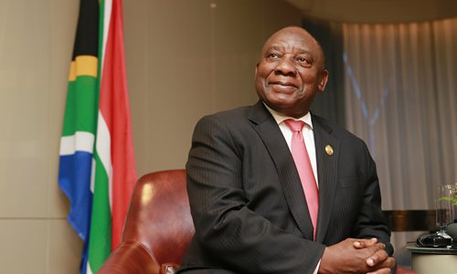 South African president says China-Africa ties enter golden ...