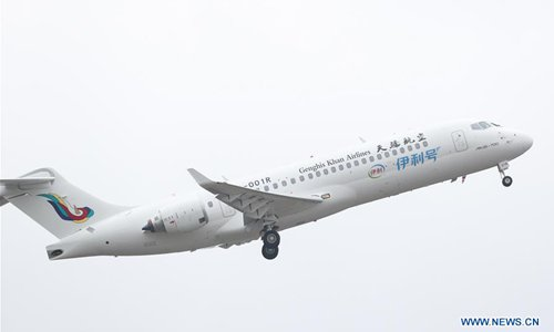 Genghis Khan Airlines receives first ARJ21 aircraft
