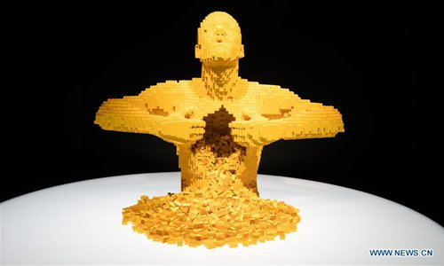 """Exhibition """"The Art of the Brick"""" held in Texas, US"""