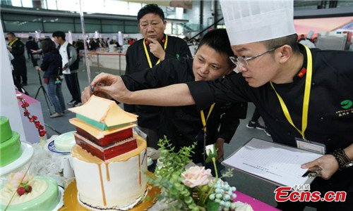 Baking competition held in Shanghai - Global Times