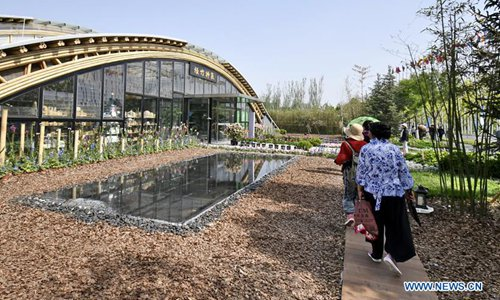 """INBAR """"honor day"""" observed at horticultural expo - Global Times"""