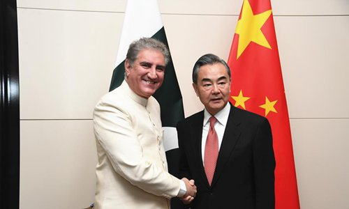 Chinese, Pakistani FMs pledge to jointly combat terrorism - Global Times