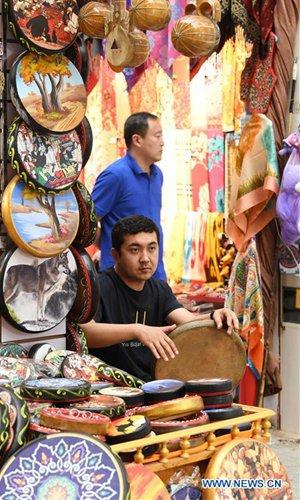 Xinjiang International Grand Bazaar in Urumqi - Global Times