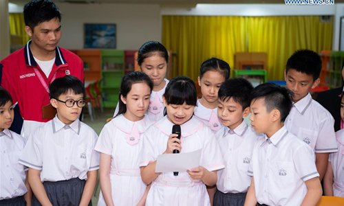 Pupils from Macao receive Xi Jinping's letter - Global Times