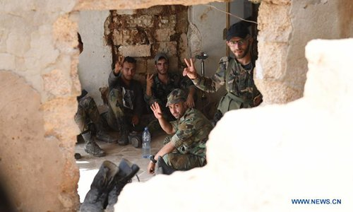 Syrian army fights to restore rebel-held areas in Hama - Global Times