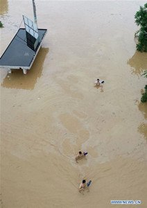 Guangxi upgrades meteorological disaster emergency response due to rainstorms - Global Times