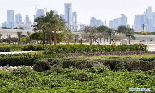 Qatar makes efforts to promote green development concept in