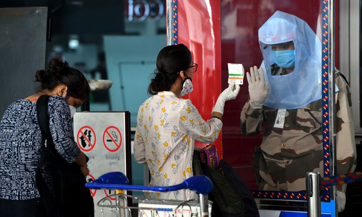 Domestic Flights Resume In India After Two Month Lockdown Over Covid 19 Global Times