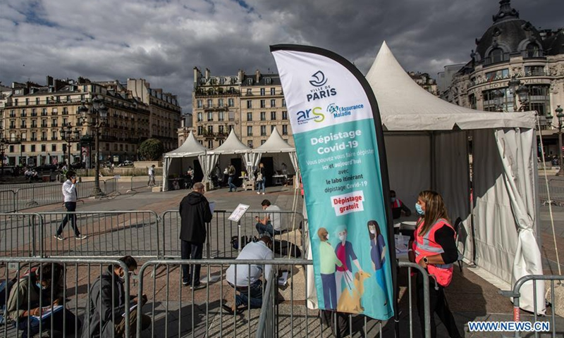 Paris Sets Up Free Covid 19 Screening Centers Global Times