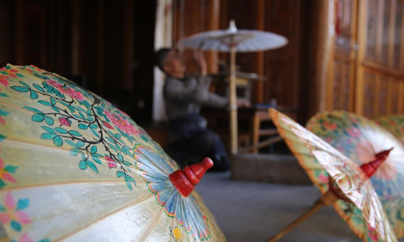 Century Old Oil Paper Umbrellas Full Of New Vitality In Xingyang Yunnan Global Times