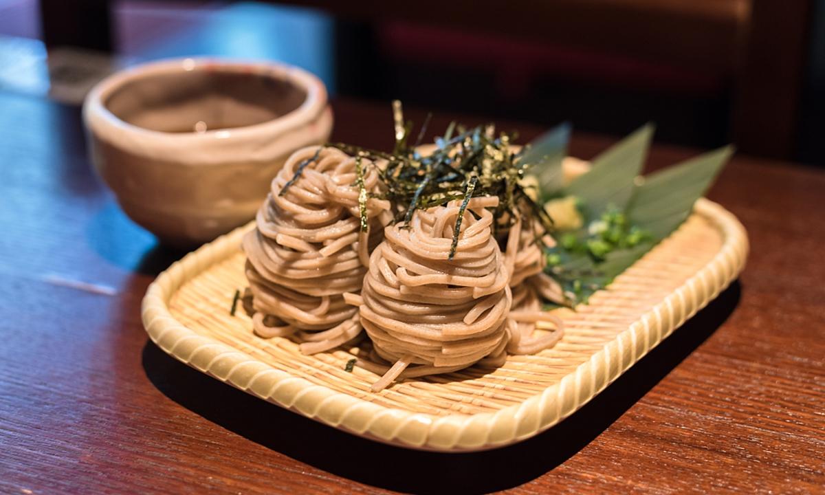 Japanese buckwheat noodle Photo: CFP
