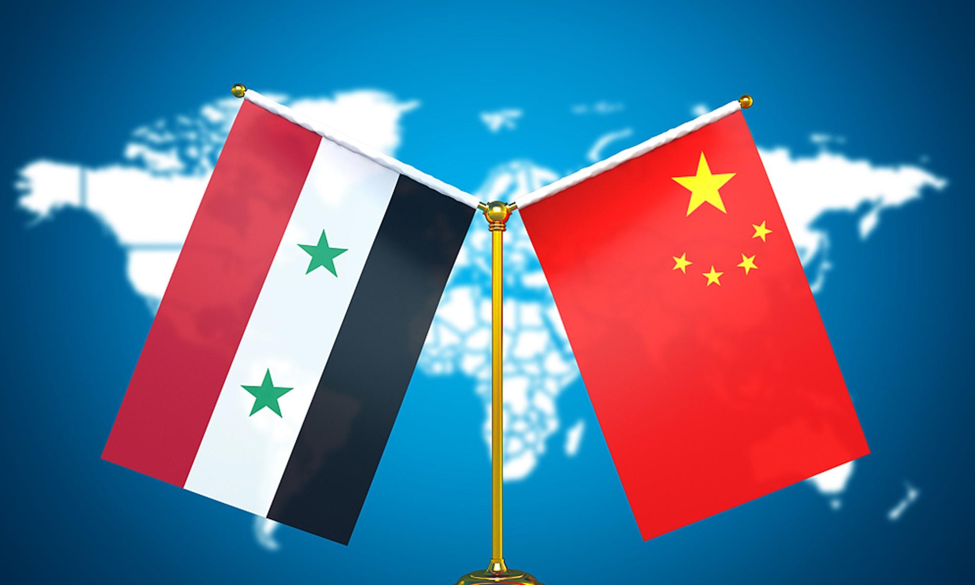 China and Syria. File photo: CFP