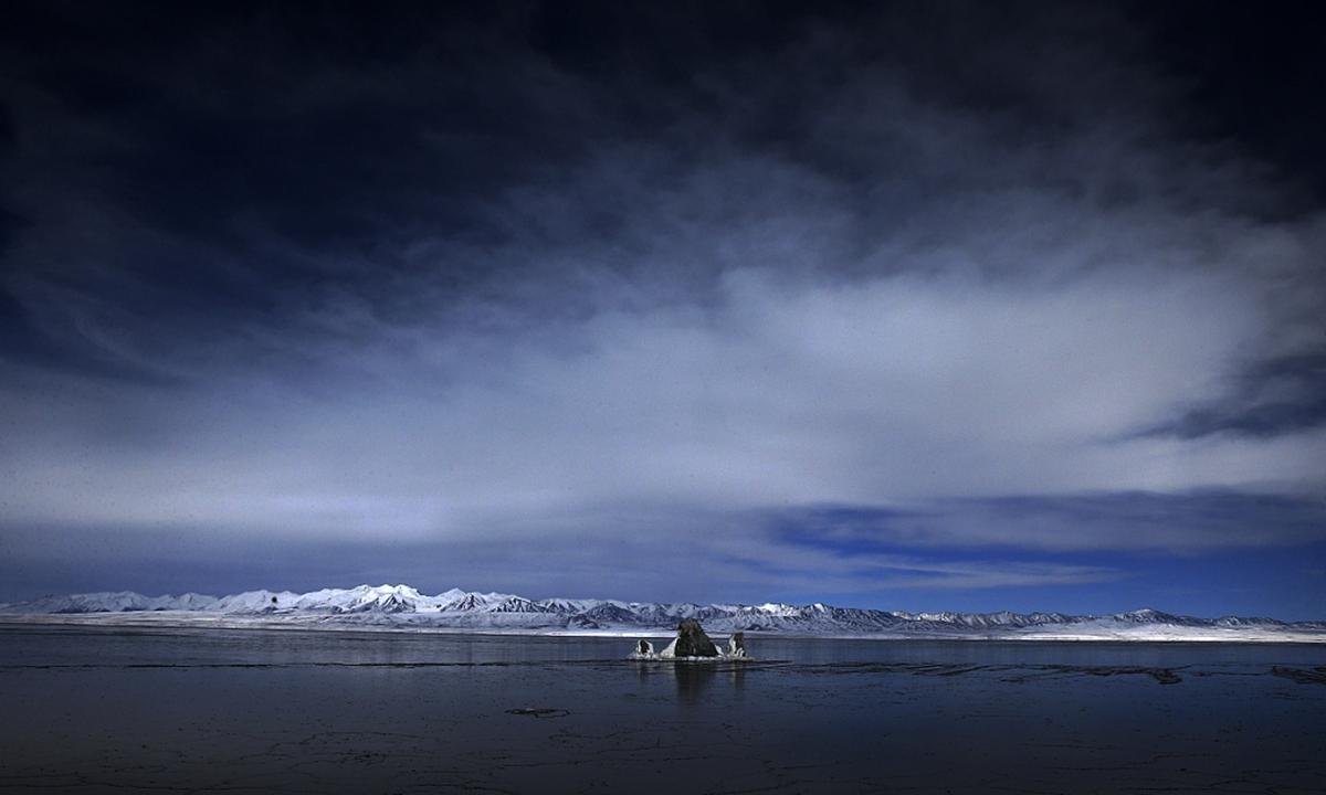 Halahu lake on Qinghai-Tibet Plateau Photo: CFP