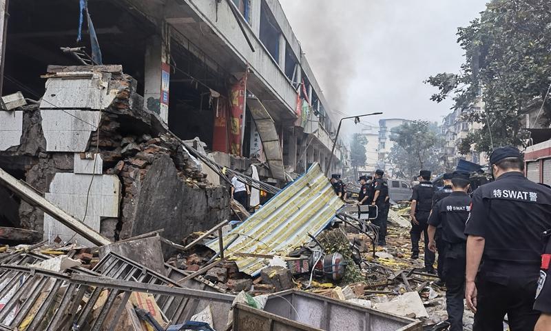 Shiyan explosion Photo:VCG