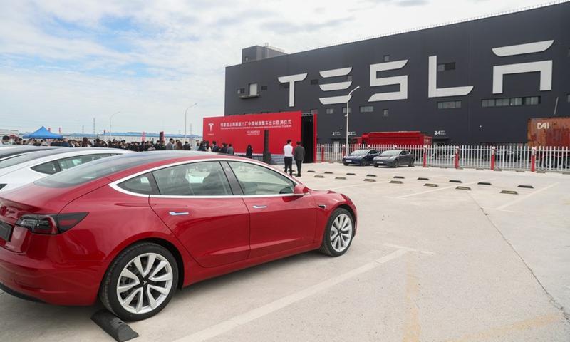 Tesla Photo:Xinhua