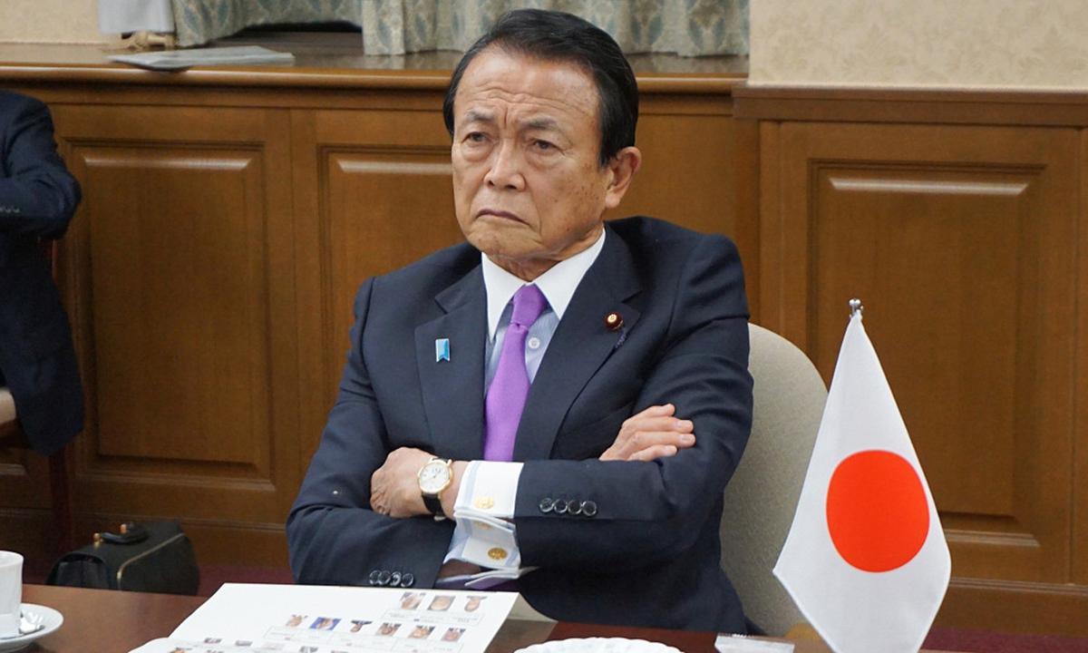 Japanese Deputy Prime Minister Taro Aso Photo: CFP