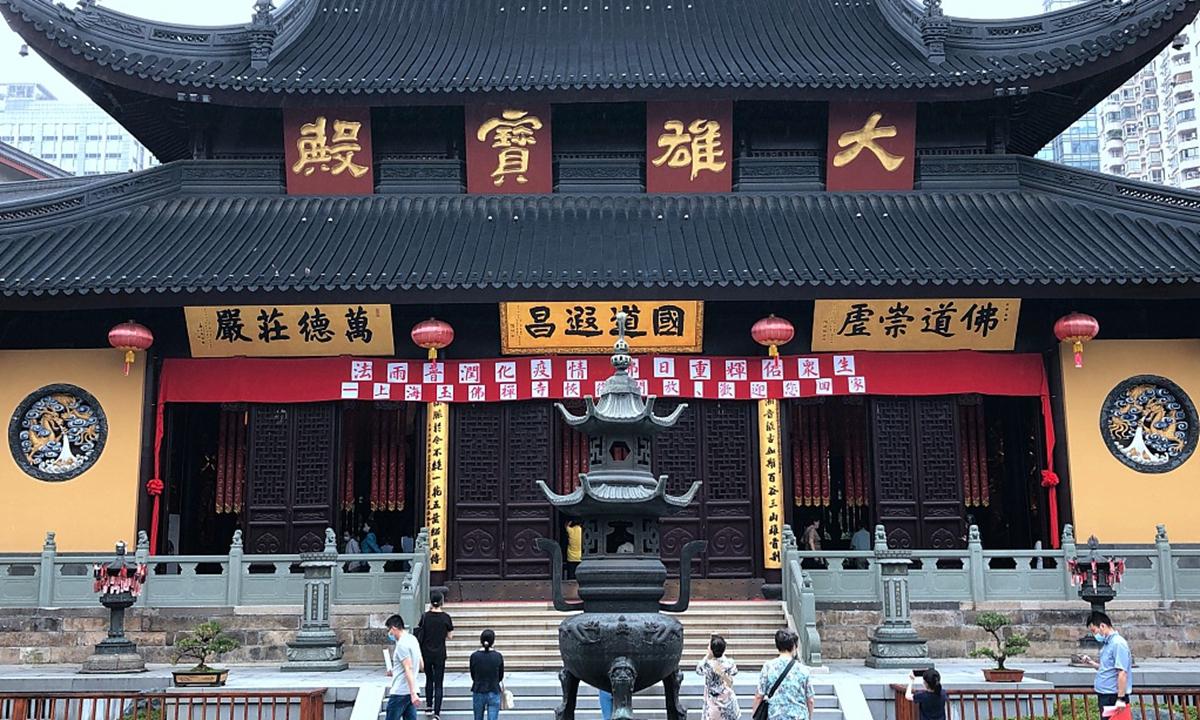 Shanghai Yufo Temple Photo: CFP