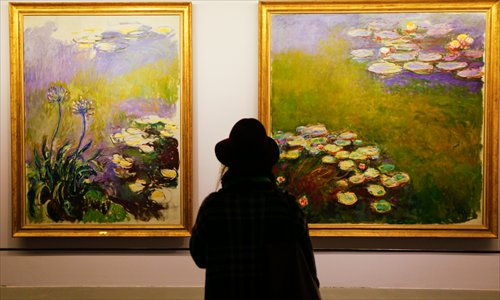 D Art Exhibition China : Meeting monet global times