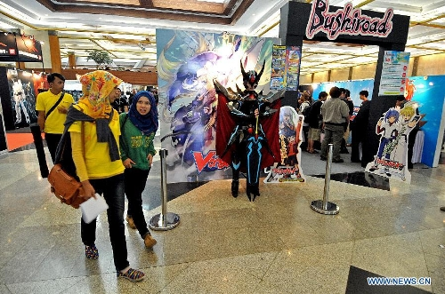 People Visit The Anime Festival Asia AFA Indonesia 2013 Exhibition In Jakarta Sept 6 Xinhua Agung Kuncahya B