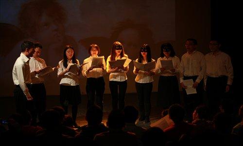 The Shining Jazz Chorus performs at a recital celebrating their fifth anniversary. Photos: Courtesy of Wang Ruoyu