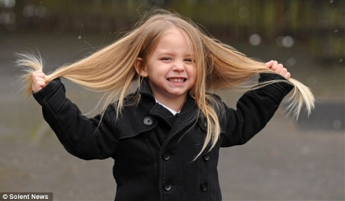 Little Boy To Have 2ft Long Hair Cut Off For Charity Global Times