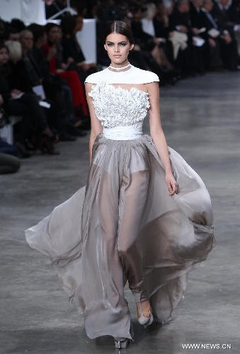 In pictures haute couture spring summer 2013 in paris for French couture