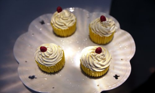 Durian bomb cheese cupcakes from Say Cheese Photos: Yang Hui/GT