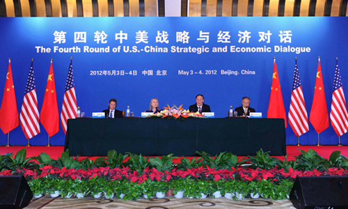 The fourth round of China-US Strategic and Economic Dialogue (S&ED) was