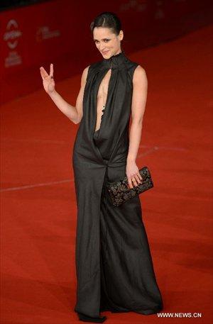 Actress Anastasia Mikulchina of the opening film