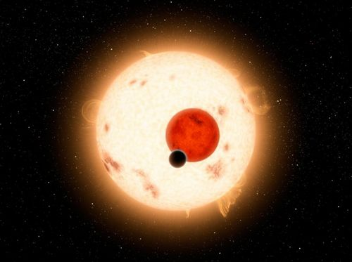Previous discoveries of NASA's Kepler mission: This artist's concept illustrates Kepler-16b, the first planet known to definitively orbit two stars. Photo: NASA