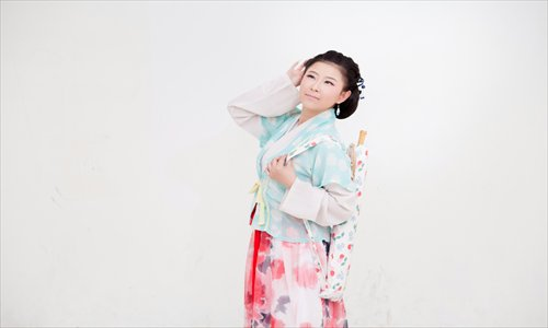 A woman in Tang Dynasty clothing. Photos: Courtesy of BHA