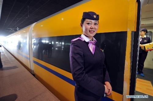 Nanjing-Hangzhou High-Speed Railway starts test run ...