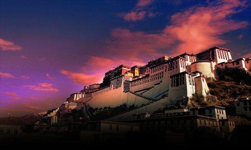 Potala Palace in Tibet Photo: CFP