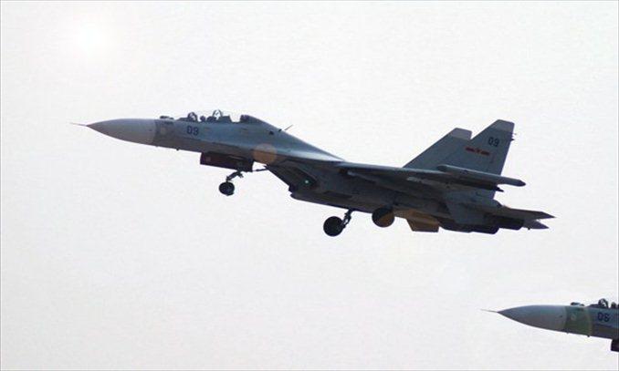 Chinese Naval air force Photo:Xinhua