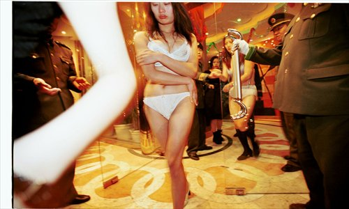 The places in shanghai china where you can find sex workers