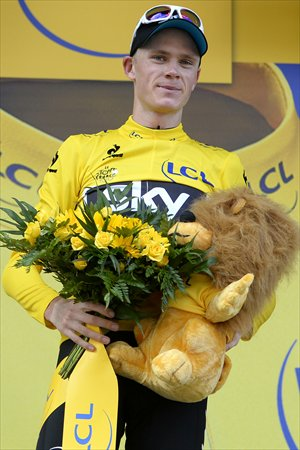 Chris Froome Photo: IC