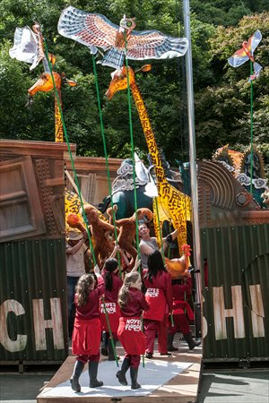 Noye's Fludde performed in Belfast Zoo. Photos: Courtesy of KT Wong Foundation