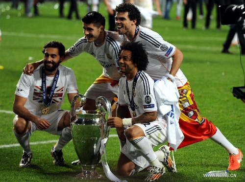 real madrid beats atletico madrid 4 1 to win champions league global times global times