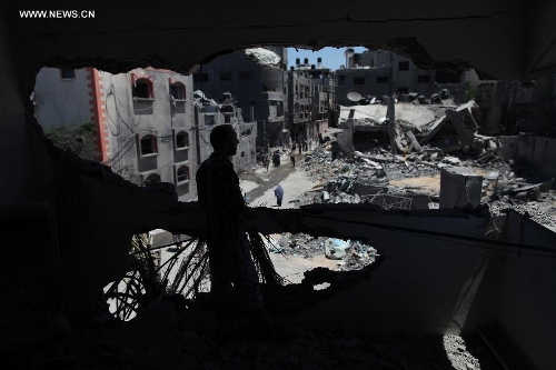 Israeli airstrike hits Jabalia refugee camp in Gaza Strip