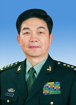 Chang Wanquan is endorsed as the state councilor of China at the sixth plenary meeting of the first session of the 12th National People's Congress (NPC) in Beijing, capital of China, March 16, 2013. (Xinhua)