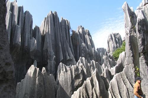 The Stone Forest, Yunan, China  (Source: www.huanqiu.com)