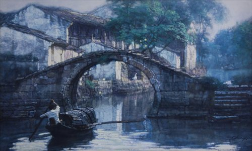 Artworks on show at the exhibition Photos: Courtesy of China Art Museum