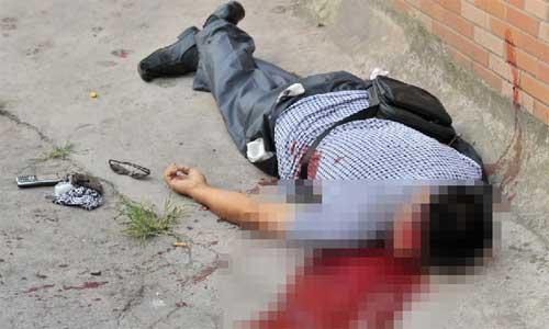 Chongqing serial killer Zhou Kehua was shot dead by police in Tongjiaqiao, Shapingba district, Chongqing, at 6:40 am Tuesday, according to a CCTV report. Photo: 163.com